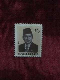 Stamp presiden soeharto tahun 1986