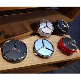 4pcs Mercedes sport Wheel Center Cap Rim cap 75mm