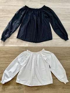 Brand New Black or White Off Shoulder Top