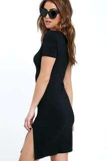 Meg Slit Dress