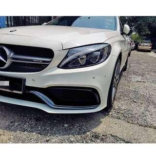 Mercedes-Benz W205 C63 AMG PP Bodykit Taiwan