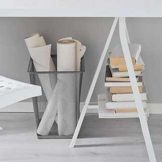 IKEA廢紙簍 垃圾桶 鐵籃*2