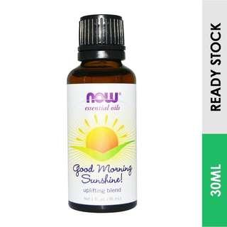 Good Morning Sunshine, Uplifting Essential Old Blend, Now Foods (30 ml)