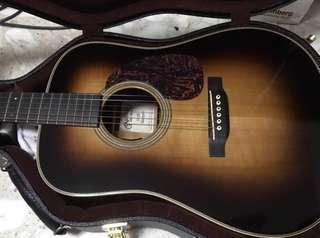 Martin D28 Marquis Sunburst w/ LR Baggs Lyric (Read post for trades)