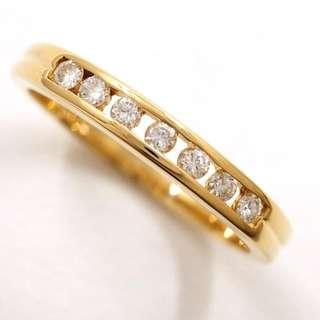 18k Diamond Ring - Channel Set