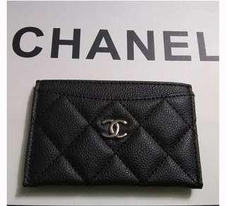 Chanel authentic card holder