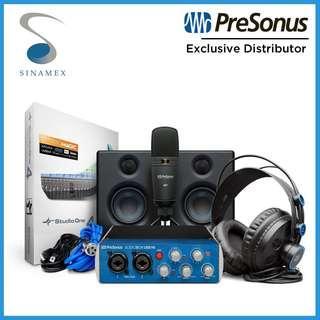 PreSonus AudioBox Studio Ultimate Bundle (Complete Recording Solution)