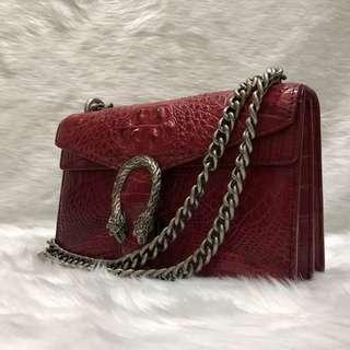 Genuine Crocodile Leather Handbag