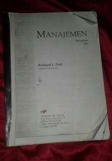 Buku Manajemen edisi ke-5 jilid 1 Ricard L daft