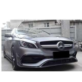 Mercedes W176 AMG A45 Facelift Bodykit