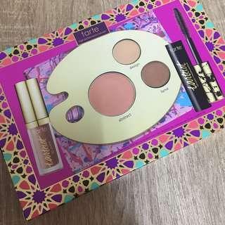 Tarte Blush, Eyeshadow, Mascara & Lipgloss Set