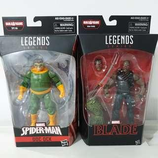 Marvel Legends Doc Octopus and Blade