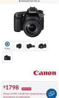 Canon dslr camera 1000D