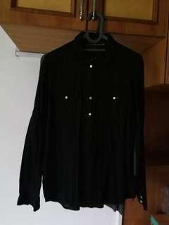 Zara shirt black