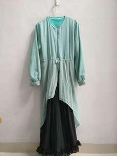 Gamis pesta with hijab