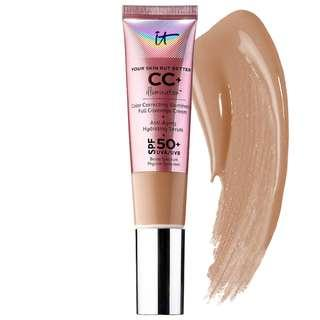 IT Cosmetics CC+ Cream Illumination SPF 50+: Rich (Original In-store Price: Php 2,450)