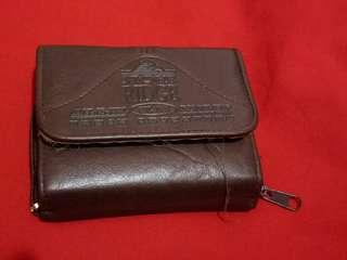 Ridge Wallet with Agenda Notebook