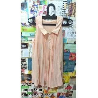 Minidress Sifon Pastel