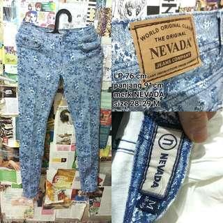 NEVADA FLOWER PANTS