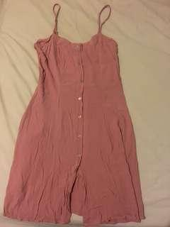 Cotton on blush pink dress size small
