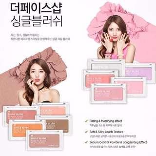 🚚 (✈️現貨清倉特價中)The Face Shop single blush 單色腮紅