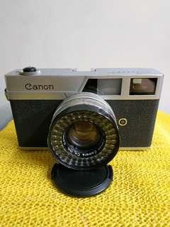 Canon Canonet w/ 45mm f1.9 lens