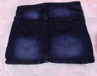 bawahan sepan jeans (skirt)