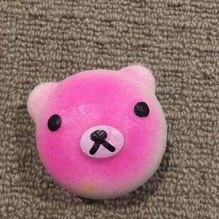 Bear macaron squishy