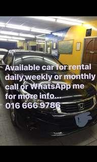Car rental / van rental Kuala Lumpur