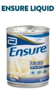 Abbott Ensure Liquid Vanilla - 24 cans