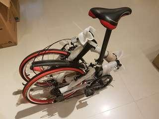 Wagei Foldable Bike with Compass 27 TPI casing, Shimano TZ. NEW
