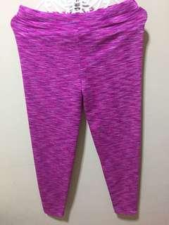 Leggings color pink..stretchable