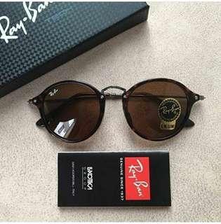 Rayban Sunglasses rb2447 玳瑁色