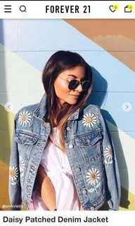DICARI Forever21 Denim Jacket