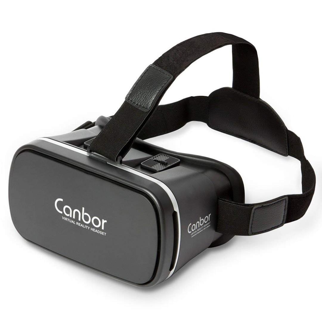 b5a75b30fdb 175. 3D VR Glasses Virtual Reality Headset Goggles Canbor VR Box ...