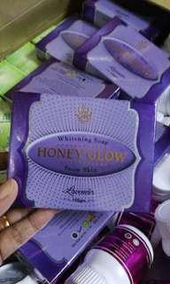 Honey Glow Lavender Soap
