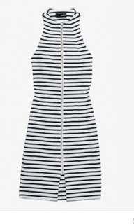 Nicholas stripe ponte dress RRP $320