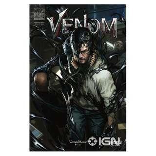 Venom Comic Custom Edition Exclusive AMC Official Movie Collectible * HOT *