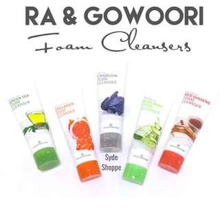 RA&GOWOORI FACIAL FOAM CLEANSERS