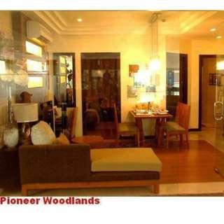 Rush christmas promo 1bedroom+balcony rent to own condo in pioneer woodlands.