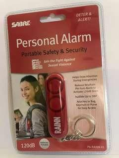 Personal Safety Alarm keyring