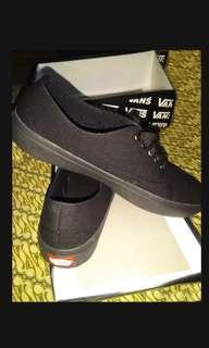 Vans authentic full black (kw) NEW size lengkap