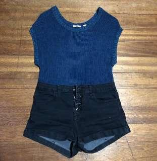 UNIQLO Knitted Sleeveless Top