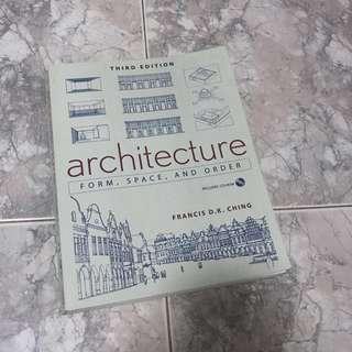 Architecture/Urban/Interior/Spatial/Landscape