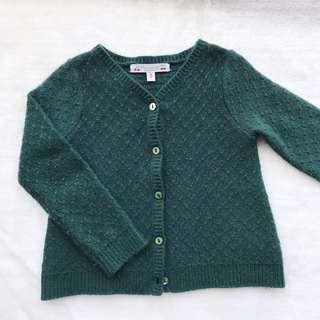 🚚 Bonpoint法國🇫🇷 女童針織外套 🎈3碼 🎈九成新