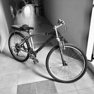Aluminium Frame bicycle used.