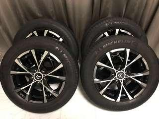 Selling Really Cheap! These rims are originally Citroen(OZ RIMS) that came with the car from CYCLE & CARRIAGE.
