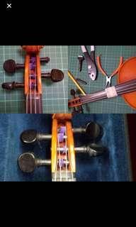 Repair violin and guitar 維修結他及小提琴