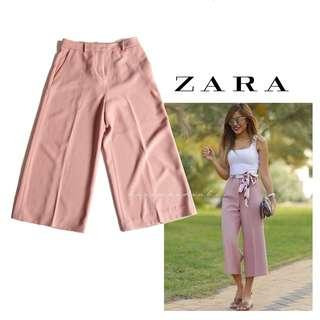 Zara pink culotte