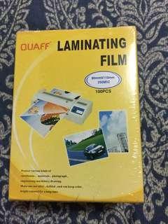 Quaff laminating film